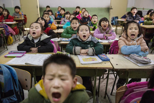 Can we please stop holding up China's schools as a model for the U.S.? It's ridiculous.