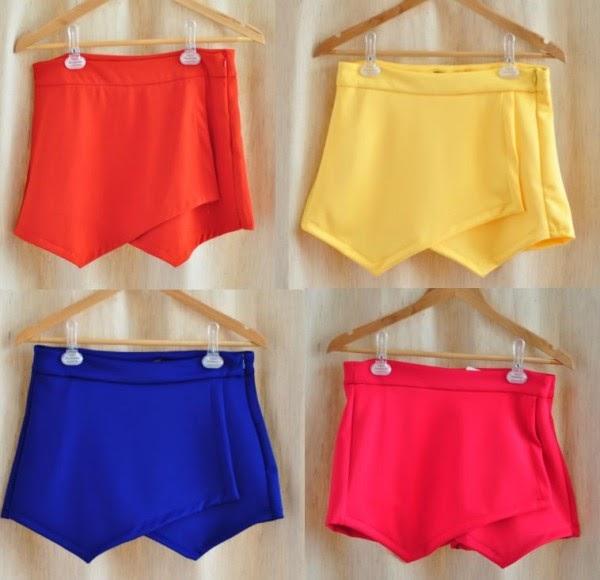 Shorts Saia-Verão 2014/2015