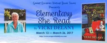 Cozy Mystery - Elementary She Read by Vicki Delany @vickidelany @dollycas - fundinmentalfundinmental