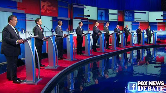 Fox News hits ratings record with prime-time GOP debate