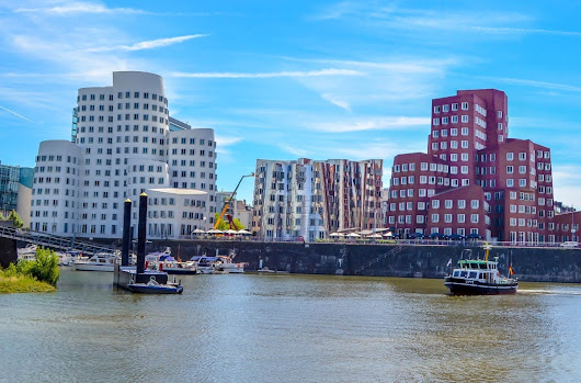 4 of the Best Places to Explore Along the Rhine River in Dusseldorf