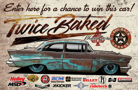Laid-Back USA offers a chance to win a 1957 Chevy - American Sweepstakes