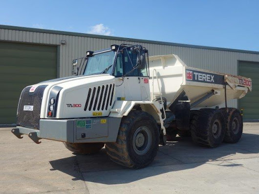 Terex TA300 6x6 Articulated Dumper 2012 for sale | MOD direct sales| LJackson and co ltd