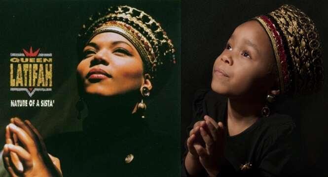 Pai faz fotos da filha inspiradas em mulheres que fizeram história e resultado é impressionante
