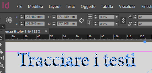 Tracciare i testi con InDesign prima di stampare - Dangeloweb