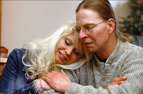 Father and daughter: Tanya and Jerry Kach were reunited after Tanya's rescue but are now estranged