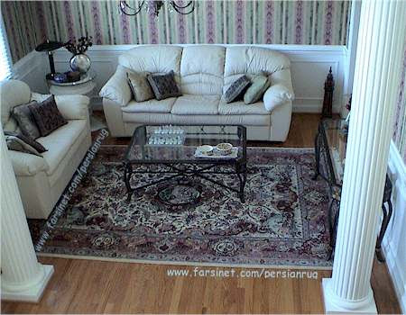 Sitting Room Decorated Width A Mashhad Hunting Scence Design Persian Rug Persian Carpet Designs Persian Rug Designs Mashhad Persian Rugs Designs Mashhad Persian Carpet Designs