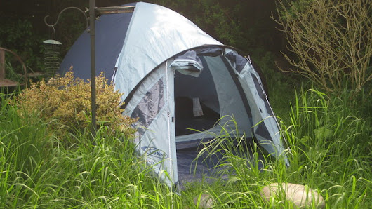 One of Evan's Tents