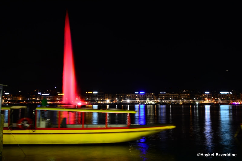 Jet Deau En Couleur Planete Photos Le Blog De Geneve