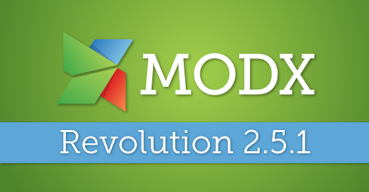 MODX Revolution 2.5.1—S3 Media Source Fixes and More