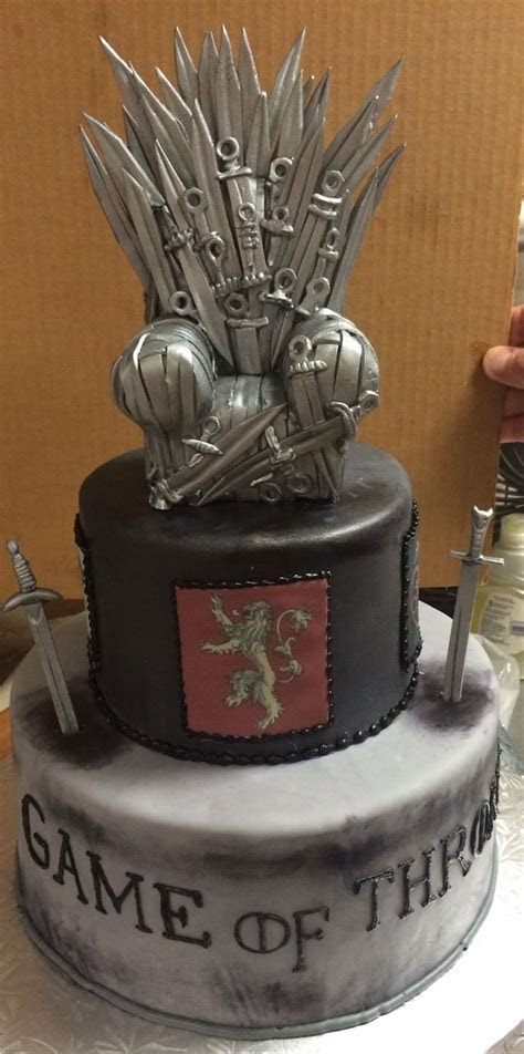 Game of Thrones I Groom's Cake   Specialty Cakes by