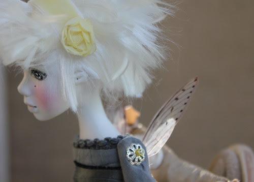 Antonia's Custom Doll, named Whisper