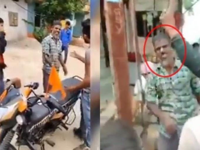 Video : मुस्लीम भंगारवाल्यास 'जय श्रीराम'चा नारा देण्यासाठी मारहाण, व्हिडिओ व्हायरल
