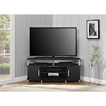 "Carson Corner TV Stand for TVs up to 50"", Black"