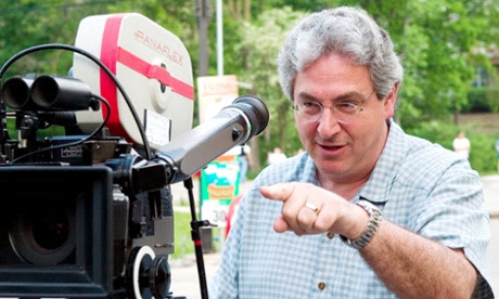 Harold Ramis on set of the Ice Harvest.