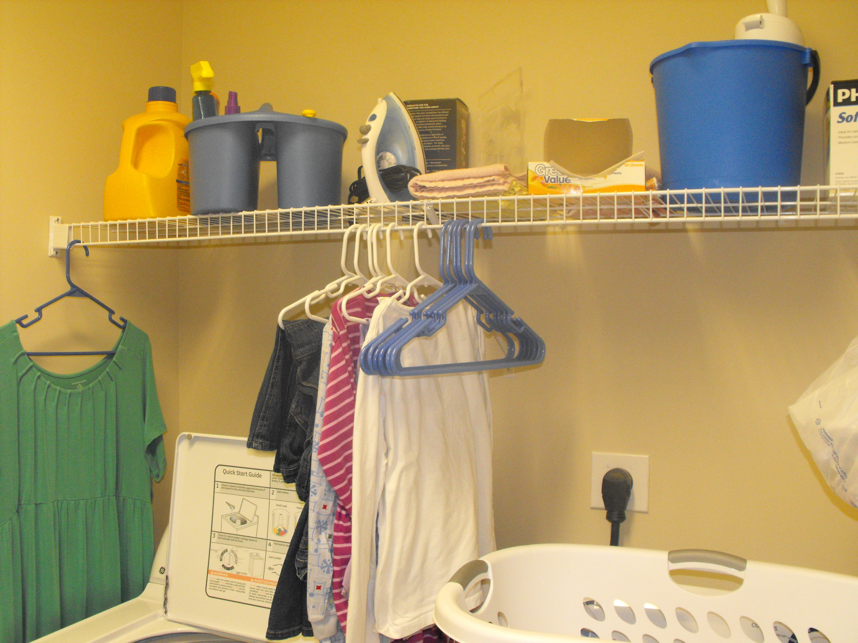 Room-by-Room Organization: Laundry Room   The Organized Wife