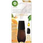 Air Wick Essential Mist Fragrance Oil Diffuser Refill, Mandarin & Sweet Orange, 1ct