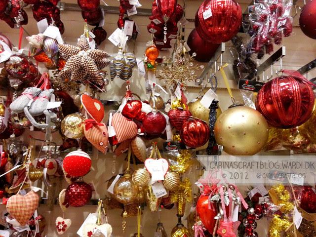 Christmas decs in Home Sense