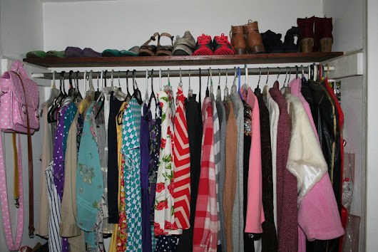 Step One: Declutter your closet