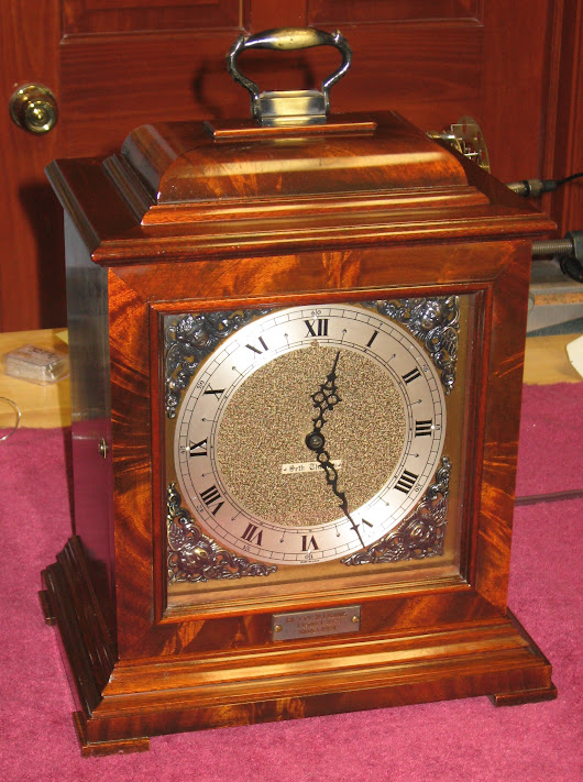 Seth Thomas Legacy - 2E Electric Westminster Chime Clock