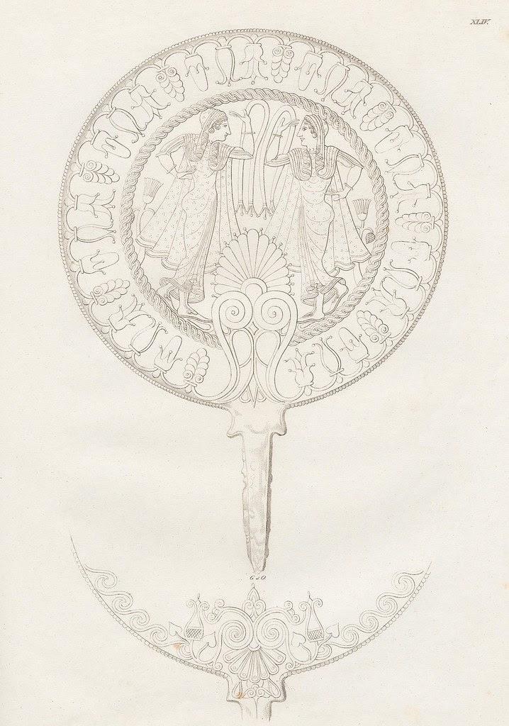 Etruskische Spiegel by Eduard Gerhard, 1840s j