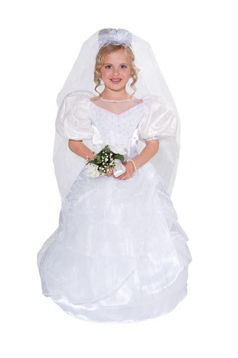 Kids Deluxe Girls Wedding Gown Costume   $26.99   The