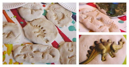 Easy Dinosaur Fossils to Make with Kids