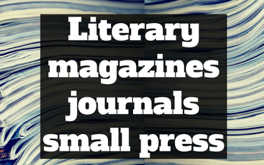 Literary magazines and journals accepting submissions