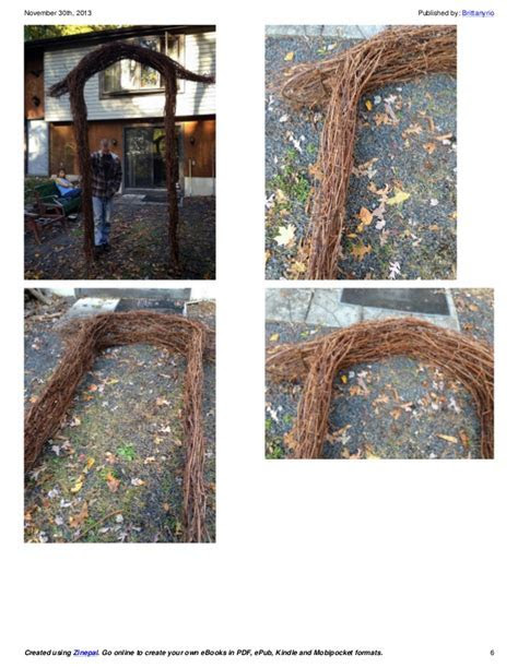 How to Make a Grapevine Wedding Arch the Final Steps!