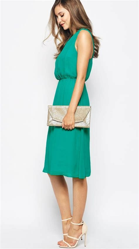 What to Wear to a May Wedding   Green wedding guest