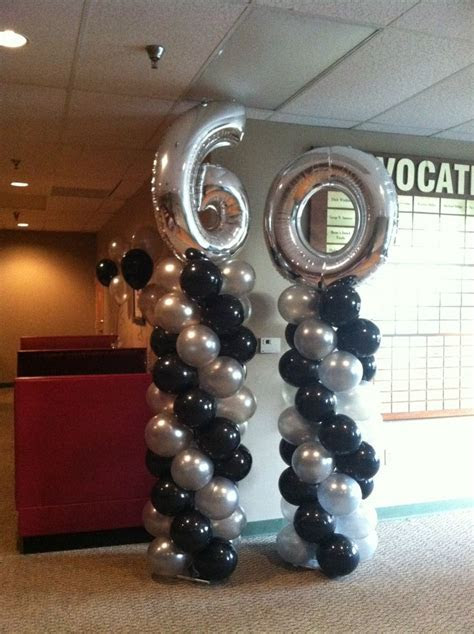 60th Birthday Party!   Balloon Decorations   Pinterest