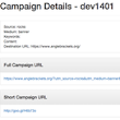 Your Cloud Buddy: Practical Analytics: Automate Campaign URL Generation with Google API's