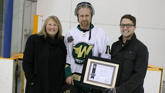 Dale Rempel - Man of the Year - Award