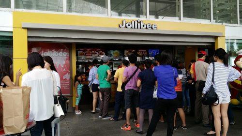 Jollibeeのお店を発見