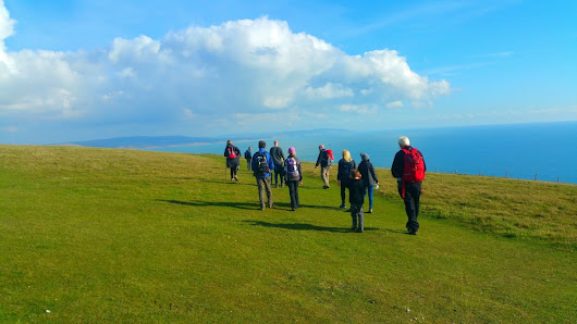 HF Holidays Guided Walk - The Needles Circular Walking Route
