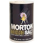 Morton Iodized Salt, 26 Ounces