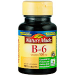 Nature Made Vitamin B-6, 100 mg, Tablets - 100 count