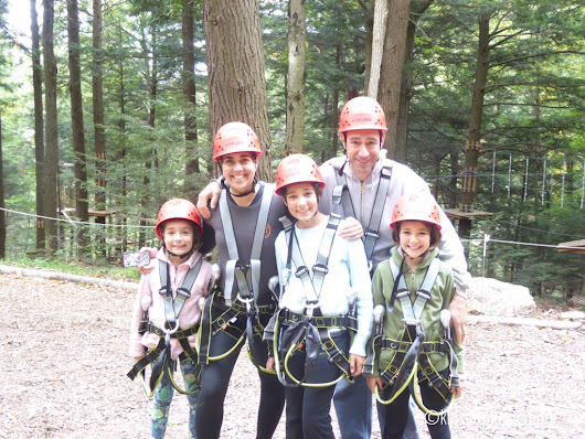 A High Ropes Adventure in the Berkshires | Kids Unplugged