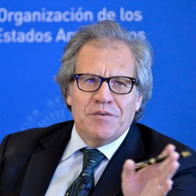 Luis Almagro on Twitter