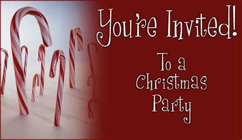 Free Christmas Party Invitation eCard   eMail Free