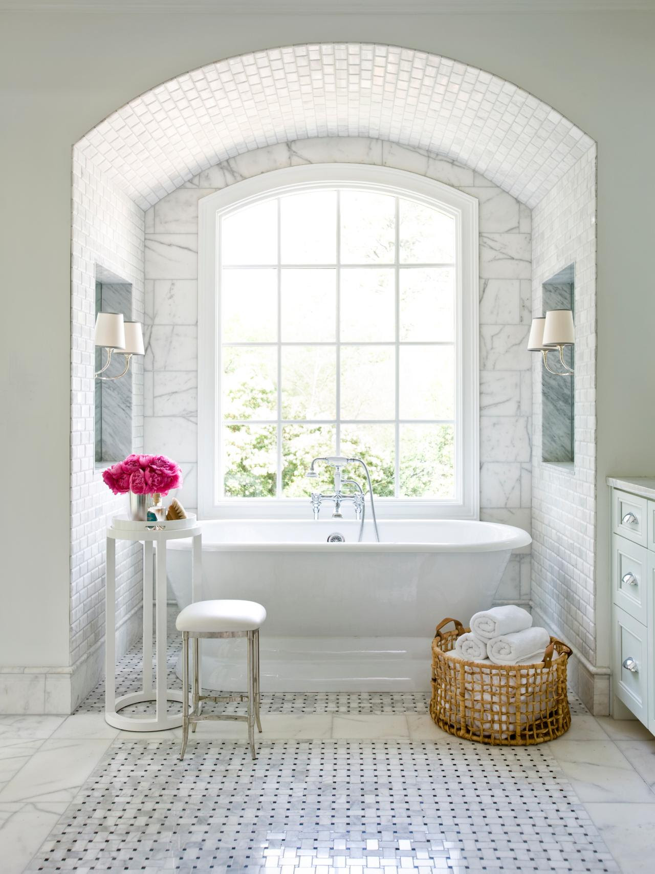 Top 20 Bathroom Tile Trends of 2017 | HGTV's Decorating ...
