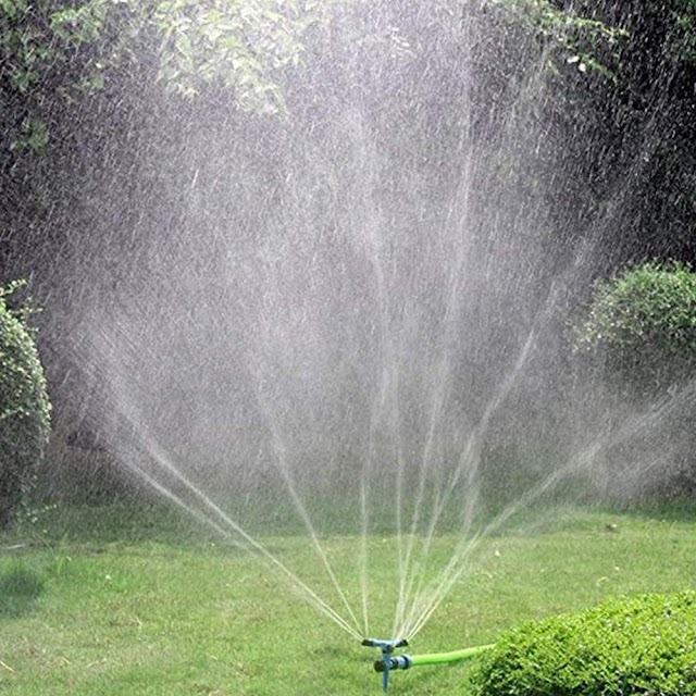 Best Kadaon Garden Sprinkler, 360 Degree Rotating Lawn Sprinkler with Up to 3,000 Sq. Ft Coverage