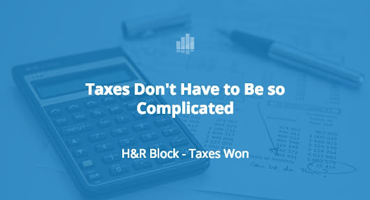 H&R Block Makes Filing Your Tax Return Easy - File Free Online