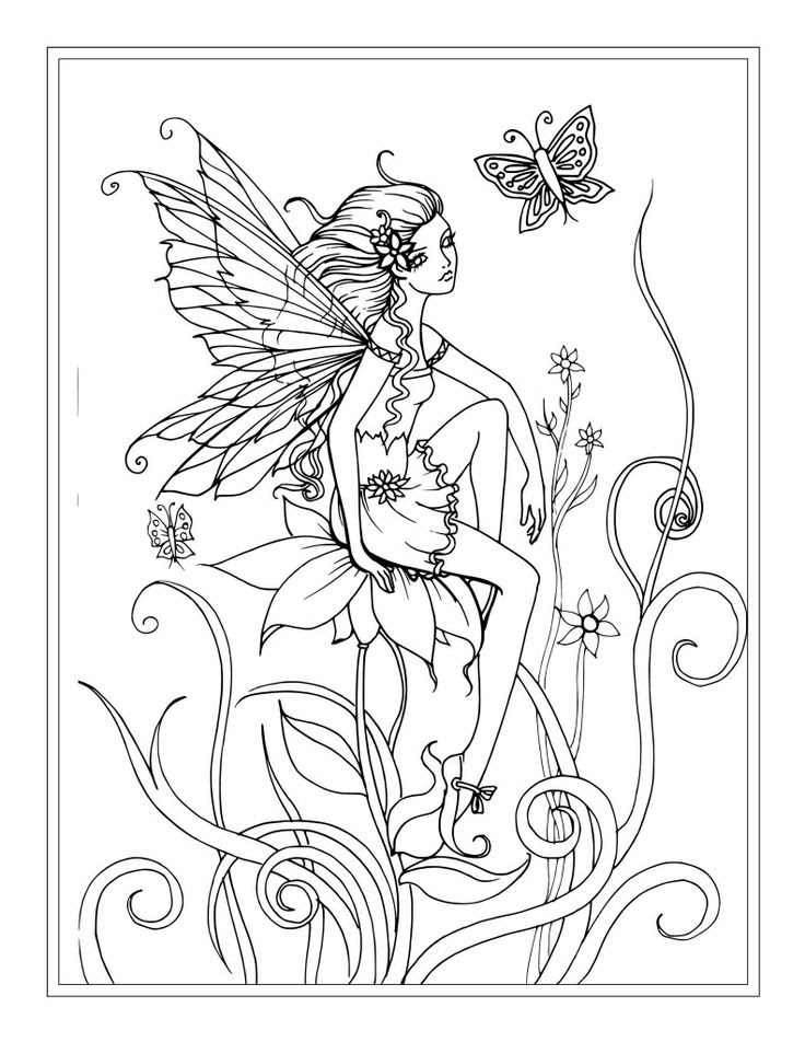 Boy Fairies Coloring Pages at GetColorings.com | Free ...