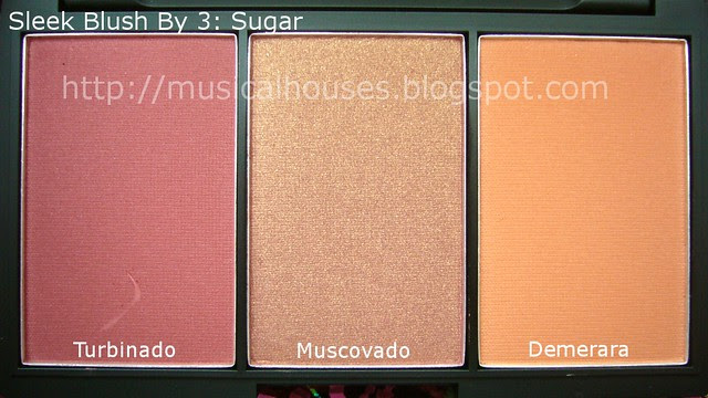 sleek blush by 3 sugar close up
