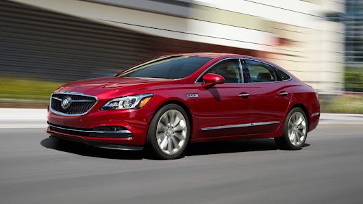 Safety features put Buick LaCrosse at the top of its class for sedans