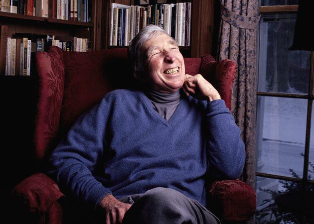 John Updike in 1994