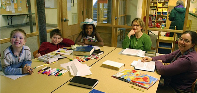 Quaker values, Quaker history, and Bible stories. The First Day School ...