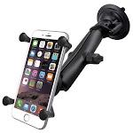 RAM Universal X-Grip IV Phone Cradle Long Arm & Suction Cup Mount Kit by PilotMall.com