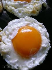 Los huevos fritos